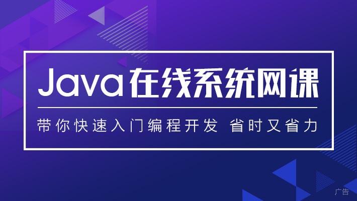 Java在线系统课